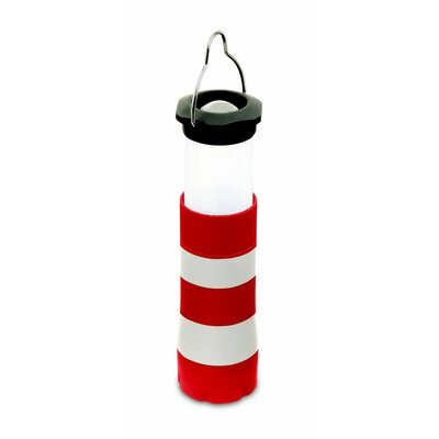 Kikkerland Mini Lighthouse Lantern and Flashlight