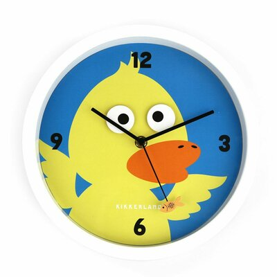 Kikkerland Googly Duck Wall Clock