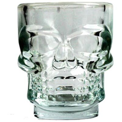Kikkerland Skull Shot Glasses (Set of 4)