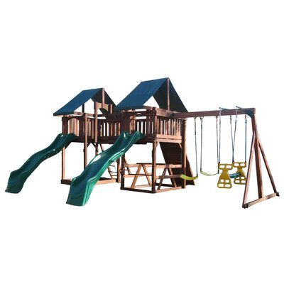 Swing Town Sequoia Swing Set