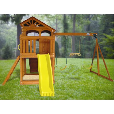 Swing Town Timber Valley Modular Swing Set
