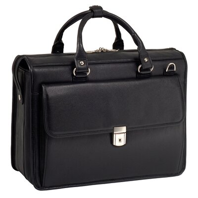 McKlein USA S Series Gresham Leather Laptop Briefcase