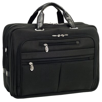 McKlein USA R Series Rockford Nylon Laptop Case in Black