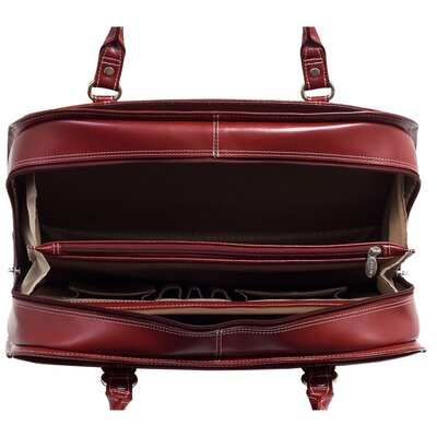 McKlein USA W Series Hillside Leather Ladies' Briefcase