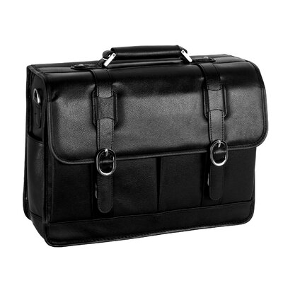 S Series Beverly Leather Laptop Briefcase