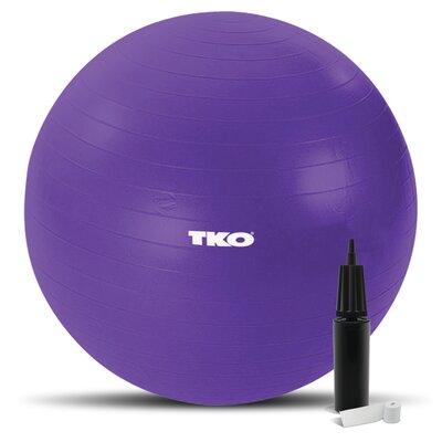 TKO Sports Women's Exercise Ball