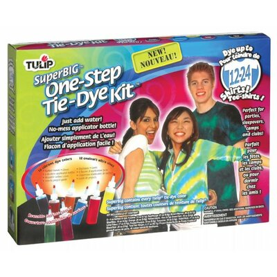 Tulip One Step Dyes Super Big Tie Kit
