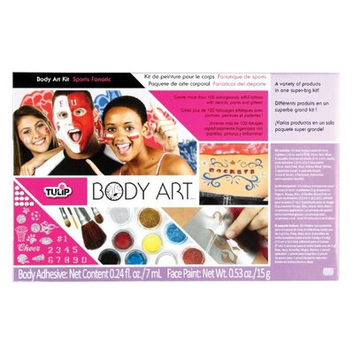 Tulip Body Art Premium Sport Fan Paint Kit