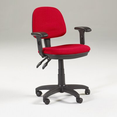Feng Shui Mid-Back Office Chair with Arms