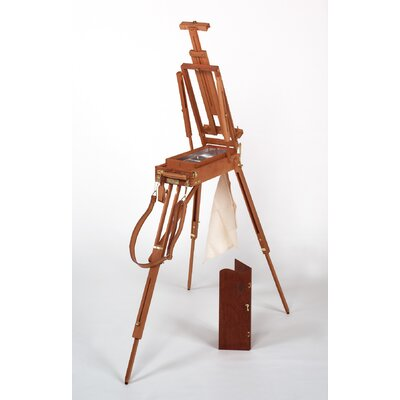 Martin Universal Design Jullian of Paris Half Size Wooden French Sketch Box Easel in Mahogany
