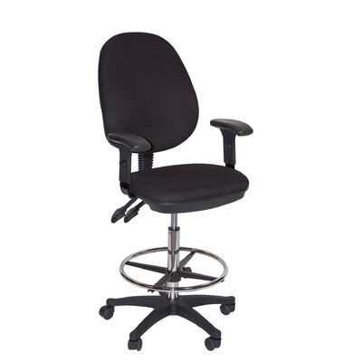 Martin Universal Design Grandeur Manager's High Back Mesh Draft Chair with Foot Ring