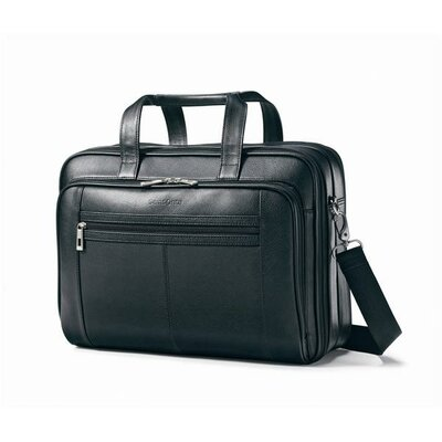 Checkpoint Friendly Leather Briefcase