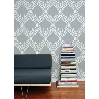Aimee Wilder Designs Leaf Damask Wallpaper by Aimée Wilder