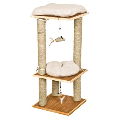Ware Mfg Bamboo Bungalow Scratching Post