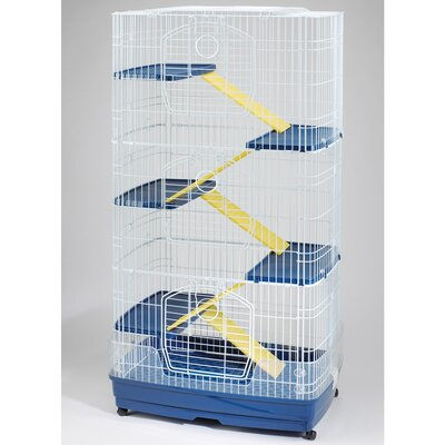 Ware Mfg Clean Living 6 Level Small Animal Cage - Large