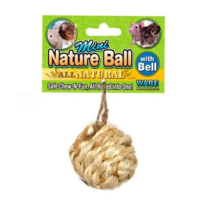 Ware Mfg Mini Nature Ball Small Animal Toy