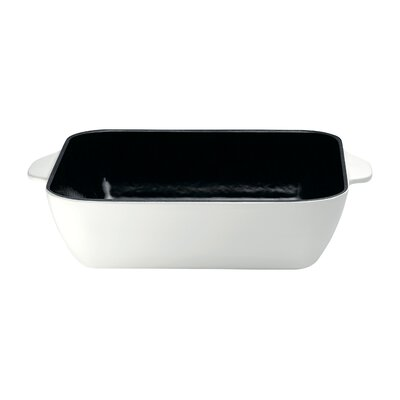 Raymond Blanc Cast Iron 26 cm Square Baking Oven Dish in White
