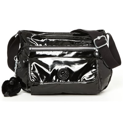 Kipling Syro Patent Medium Cross-Body Bag