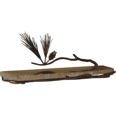 "Quiescence Pine 20"" x 6"" Bathroom Shelf"