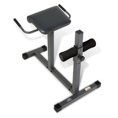 Marcy Extension Flat Hyperextension Bench Chair