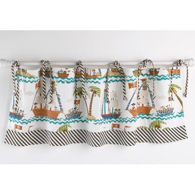 Cotton Tale Aye Matie Cotton Curtain Valance