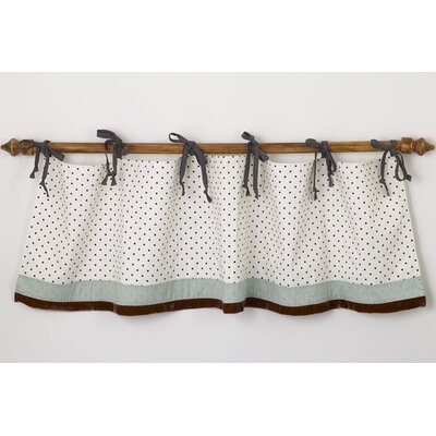 Cotton Tale Arctic Babies Straight Tab Top Tailored Curtain Valance