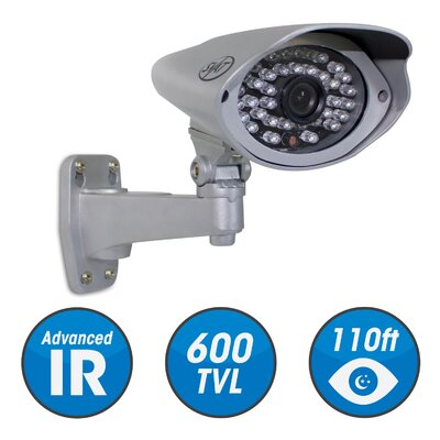 SVAT Outdoor Security Cameras with IR Cut filter, 600TVL, 38IR LED