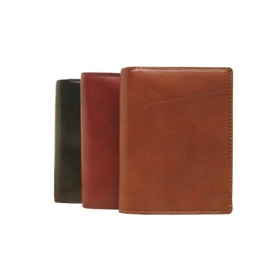 Italico Ultimo Credit Card and Coin Case Wallet with ID Window