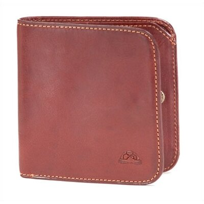 Tony Perotti The Green Collection Prima Traditional Wallet with Coin Pocket
