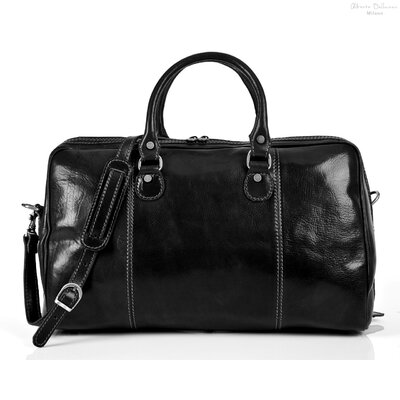 "Tony Perotti Perugia 18.5"" Italian Leather Duffel"