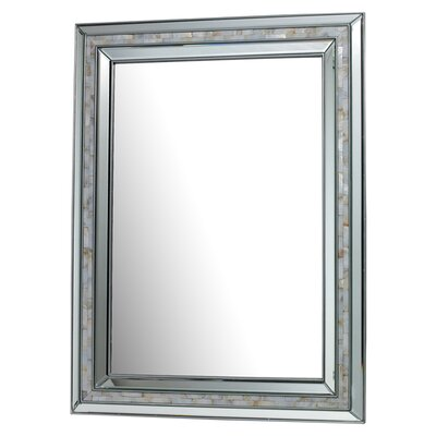 <strong>Dimond Lighting</strong> Sardis Mirror in Brushed Steel