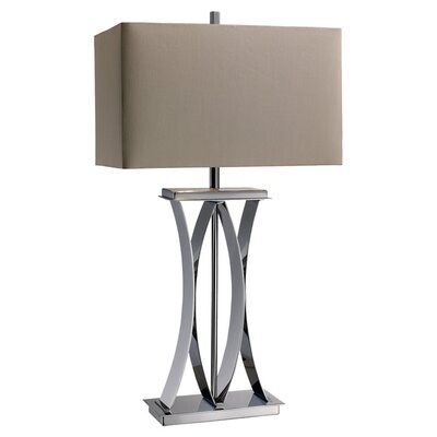 "Dimond Lighting Joline 29.33"" H Table Lamp with Rectangle Shade"
