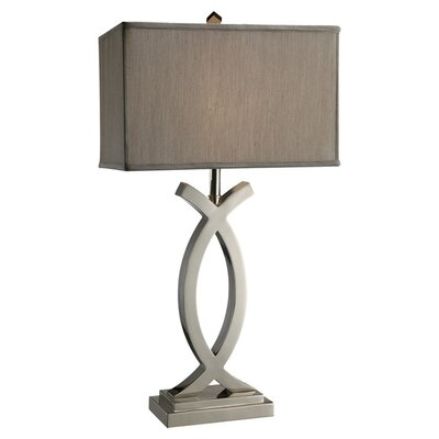 "Dimond Lighting Rowley 32"" H Table Lamp with Rectangle Shade"