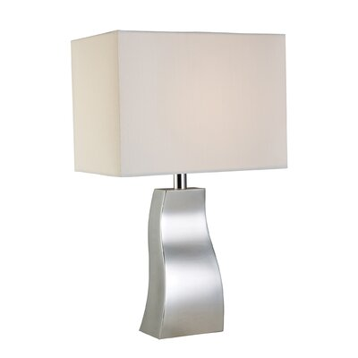 """Dimond Lighting Trendsitions Keyser 18"""" H Table Lamp with Rectangle Shade"""