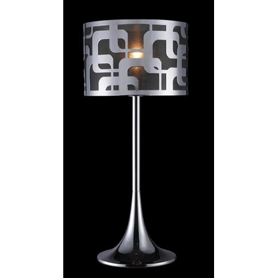 "Dimond Lighting Blawnox 24"" H Table Lamp with Drum Shade"