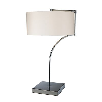 Dimond Lighting Lancaster One Light Table Lamp in Chrome