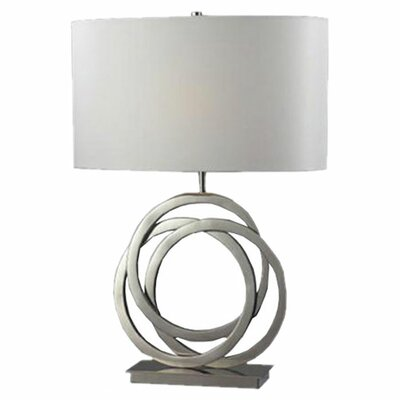 "Dimond Lighting Trinity 25"" H Table Lamp with Drum Shade"