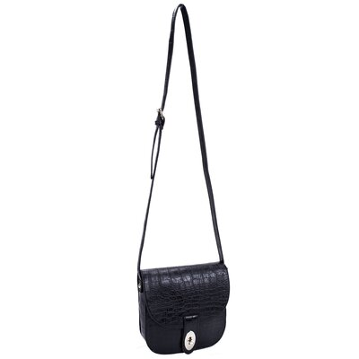 Maya Textured Faux Leather Cross Body Bag