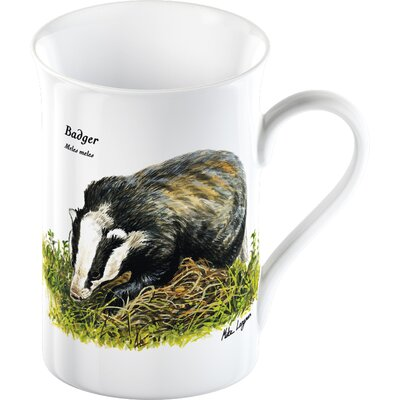 Creative Tops Wildlife Trust Badger Boxed Mug