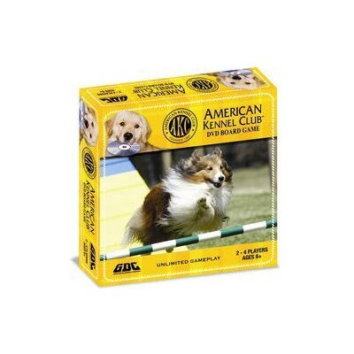 GDC-GameDevCo Ltd. American Kennel Club DVD Board Game
