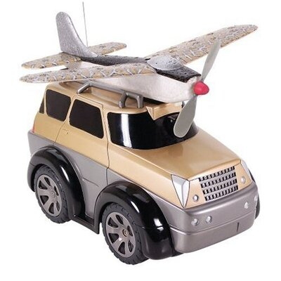 Kid Galaxy World of Wheels DRV - SUV Plane Car