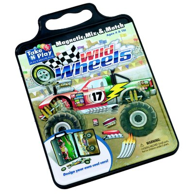 Patch Products Activity Tin - Wild Wheels