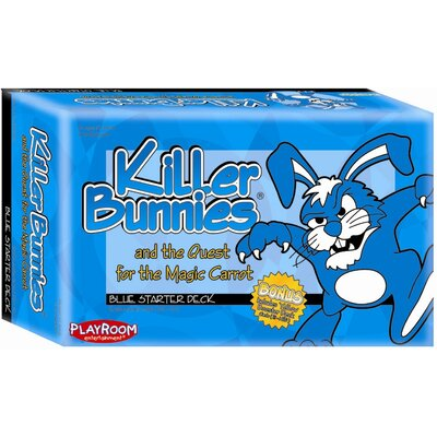 Playroom Entertainment Killer Bunnies Quest Blue Starter Games