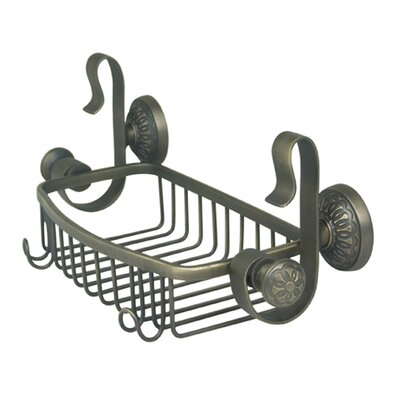 Innova Regalia Shower Caddy in Weathered Brass