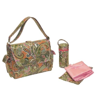 Kalencom Laminated Buckle Diaper Bag
