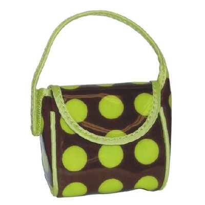 Kalencom Heavenly Dots Pacifier Pod in Green