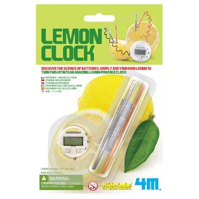 Toysmith Lemon Clock