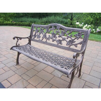 Oakland Living English Rose Aluminum Garden Bench