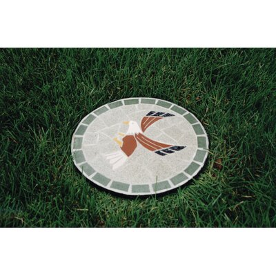 Oakland Living Mosaic Eagle Stepping Stone