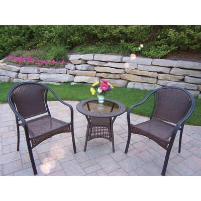 Oakland Living Tuscany 3 Piece Lounge Seating Group
